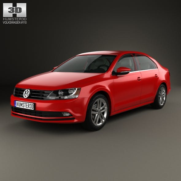 Volkswagen Jetta with HQ interior 2015