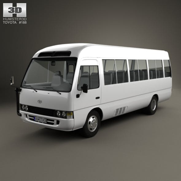 Toyota Coaster 2014 - 3DOcean Item for Sale
