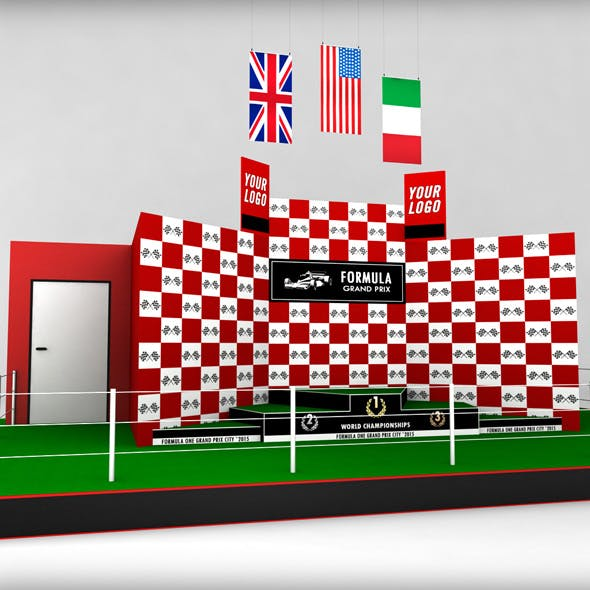 Formula One sport podium