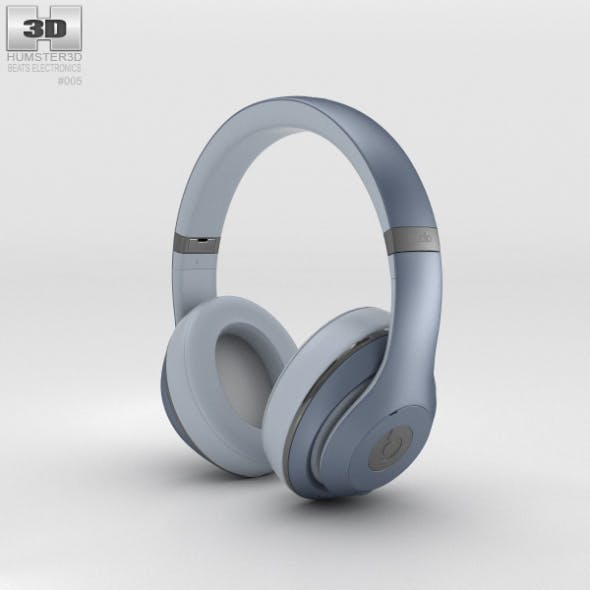 Beats by Dr. Dre Studio Over-Ear Headphones Metallic Sky