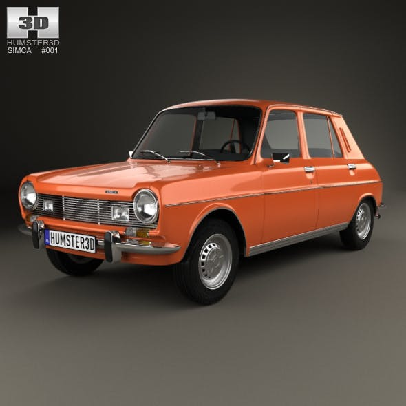 Simca 1100 1974 - 3DOcean Item for Sale