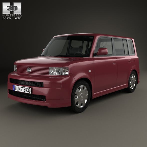 Scion xB 2003 - 3DOcean Item for Sale