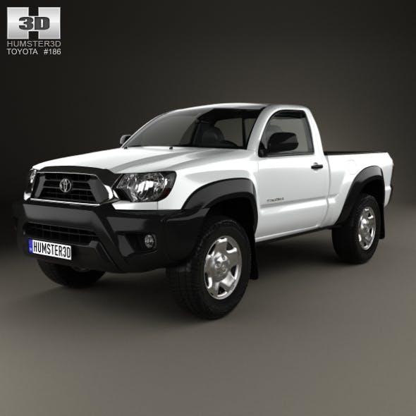 Toyota Tacoma Regular Cab 2012 - 3DOcean Item for Sale