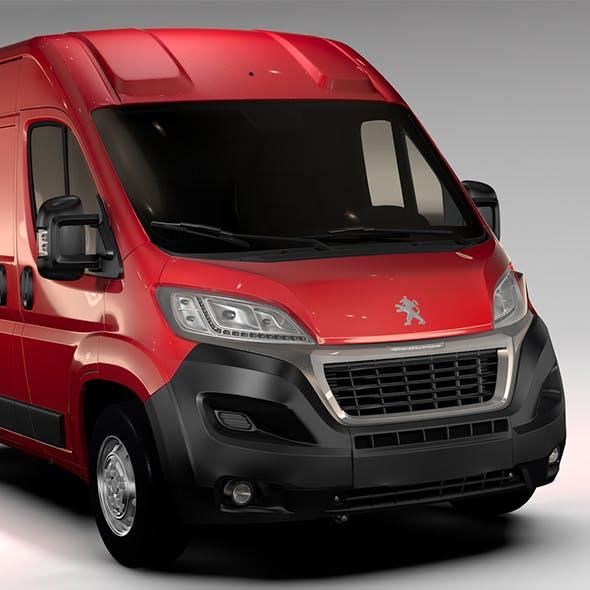Peugeot Boxer Van L1H2 2017 - 3DOcean Item for Sale