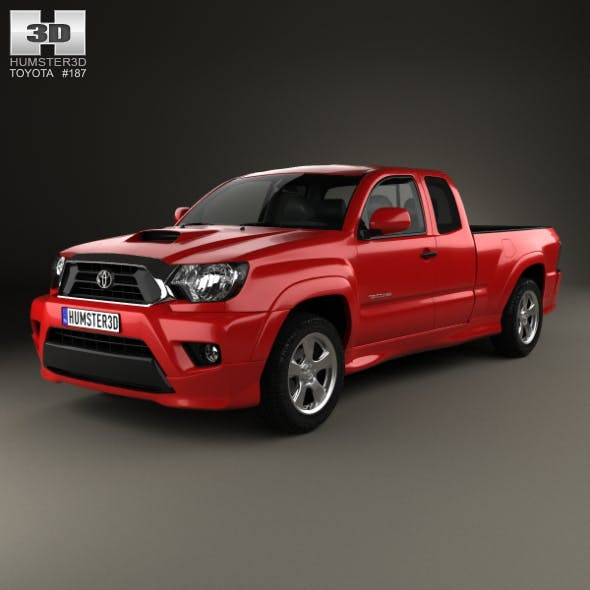 Toyota Tacoma X Runner For Sale >> Toyota Tacoma X Runner 2012 By Humster3d 3docean