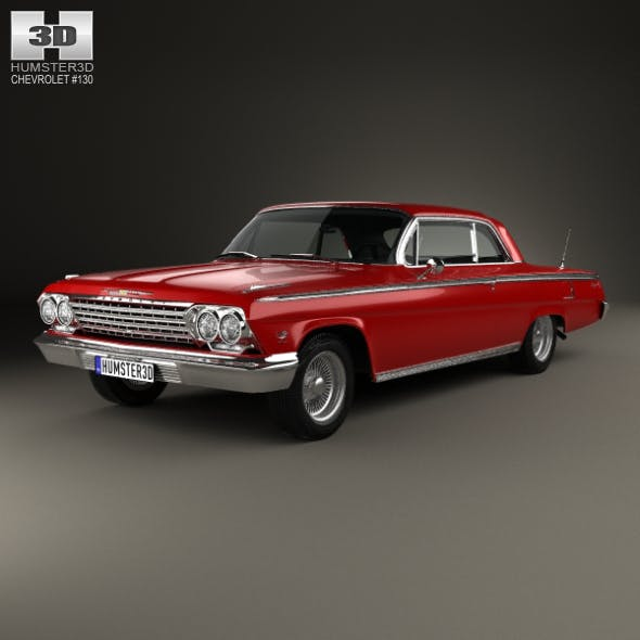 Chevrolet Impala SS 409 1962 - 3DOcean Item for Sale