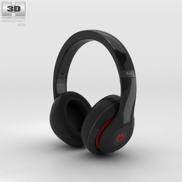 Beats by Dr. Dre Studio Over-Ear Headphones Black