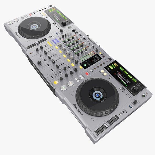 DJ Set Pioneer - 3DOcean Item for Sale