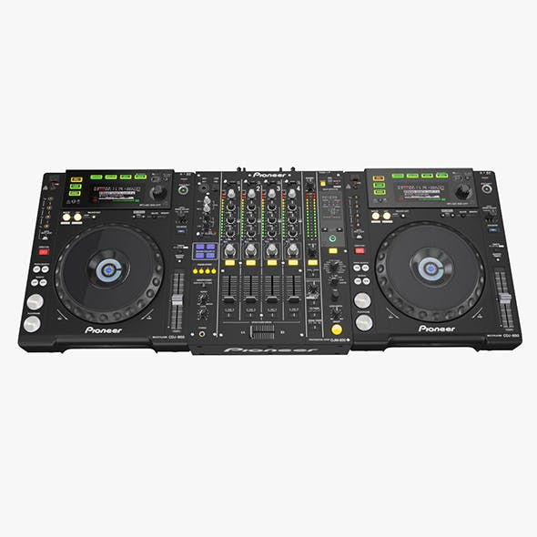DJ Set Pioneer 850