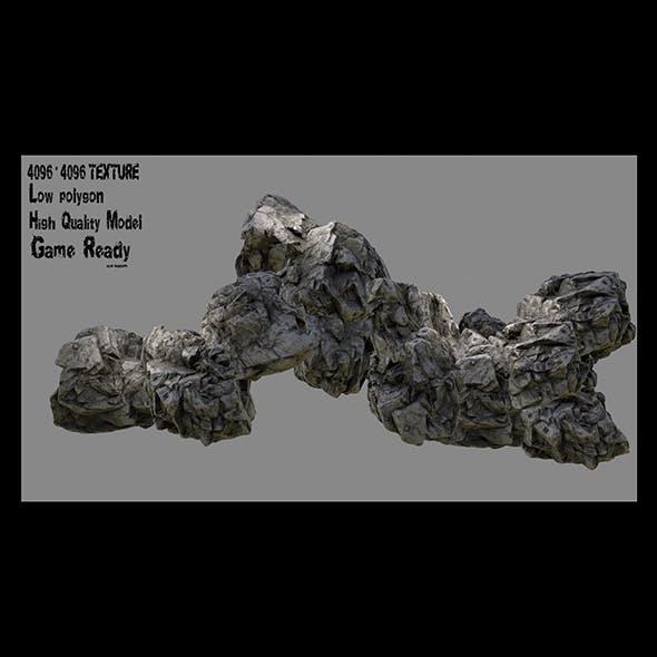 rock 8 - 3DOcean Item for Sale