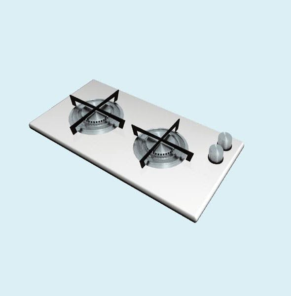 gas hob - 3DOcean Item for Sale