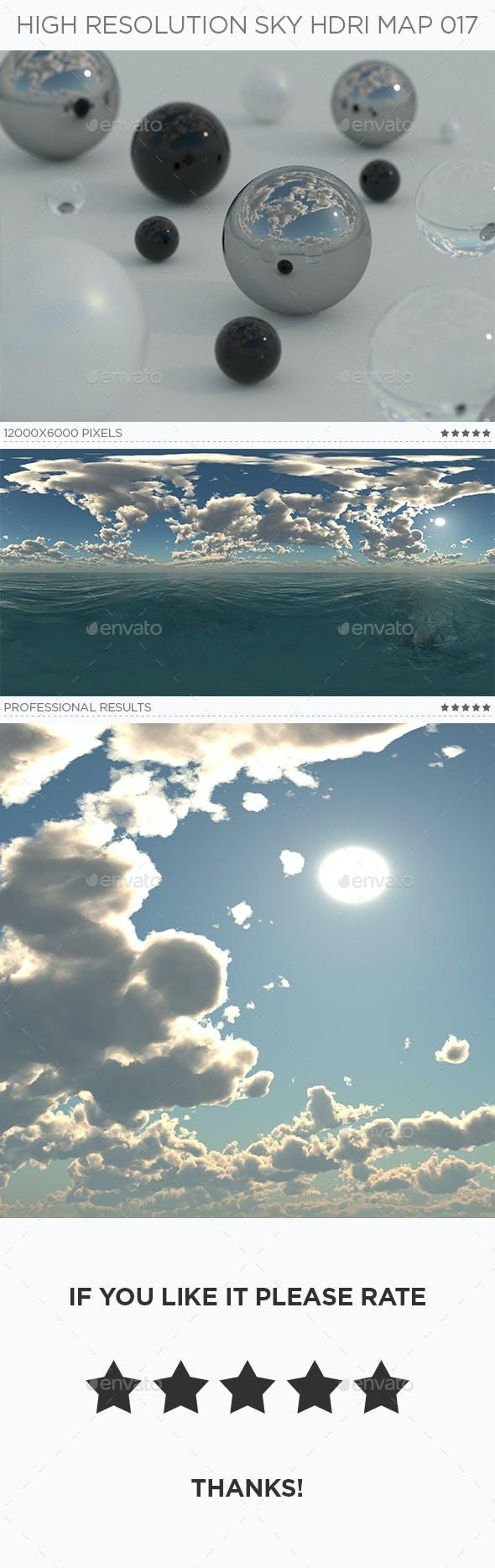 High Resolution Sky HDRi Map 017 - 3DOcean Item for Sale