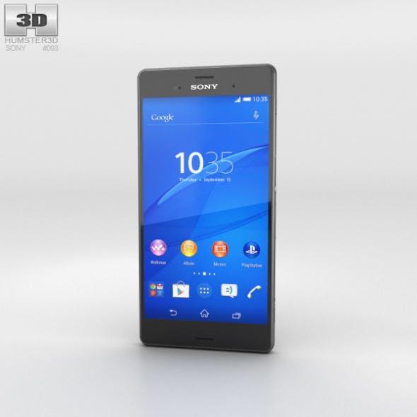 Sony Xperia Z3 Black - 3DOcean Item for Sale