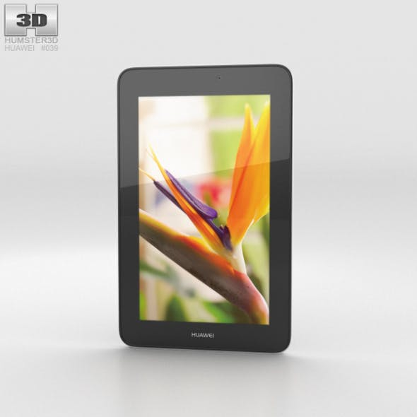 Huawei MediaPad 7 Youth2 Gold - 3DOcean Item for Sale