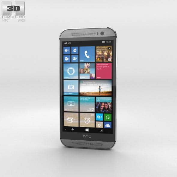 HTC One (M8) Windows Phone Gunmetal Gray