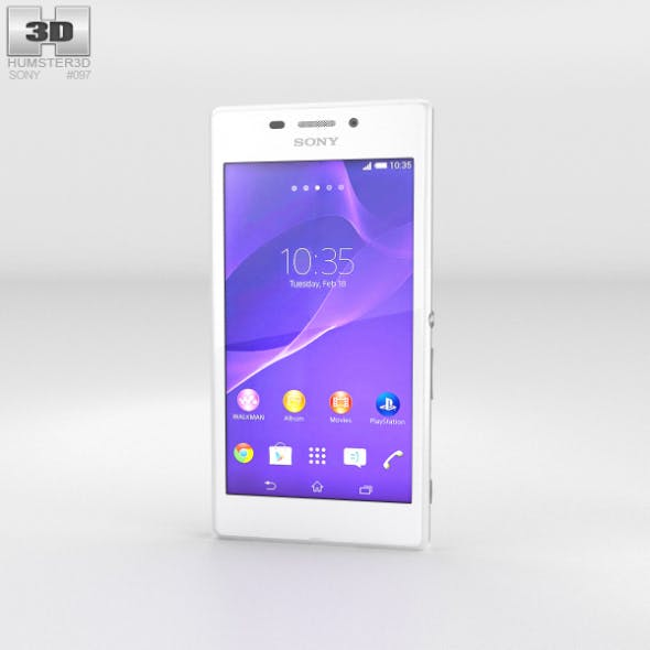 Sony Xperia M2 Aqua White - 3DOcean Item for Sale