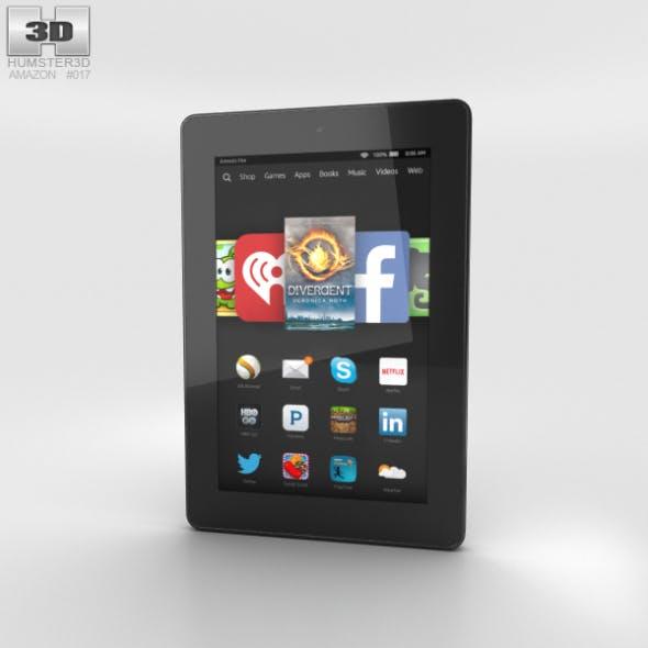 Amazon Fire HD 7 Black - 3DOcean Item for Sale