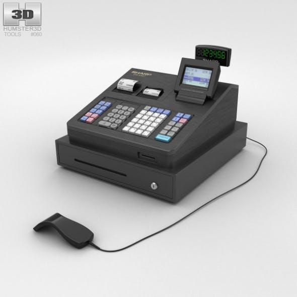 Cash Register Black - 3DOcean Item for Sale