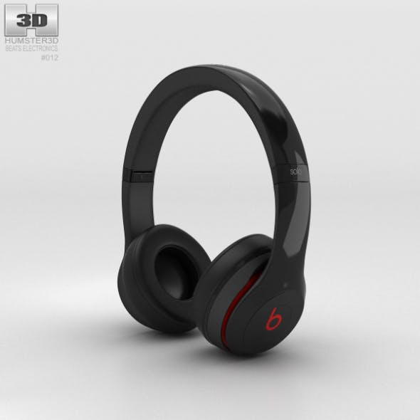 Beats by Dr. Dre Solo2 On-Ear Headphones Black