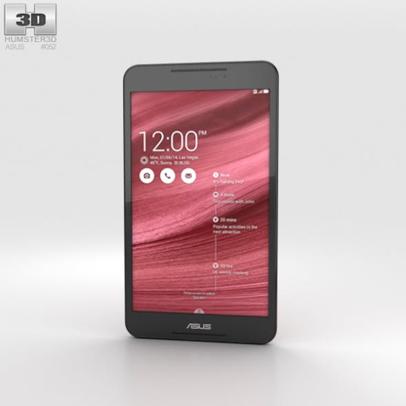 Asus Fonepad 8 (FE380CG) Red - 3DOcean Item for Sale