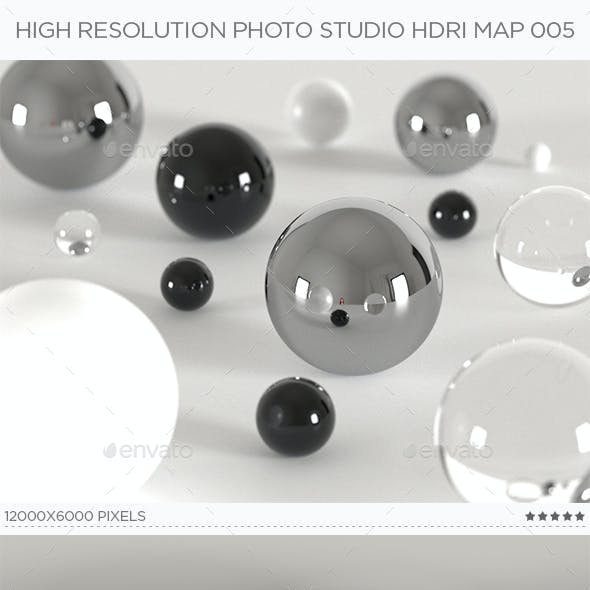 High Resolution Photo Studio HDRi Map 005