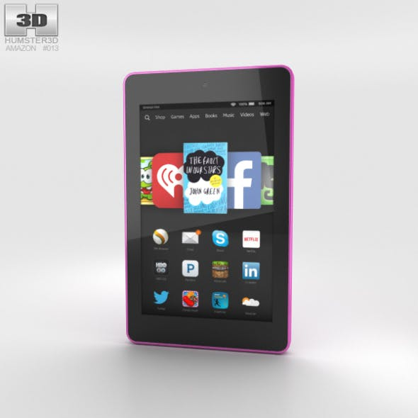 Amazon Fire HD 6 Magenta