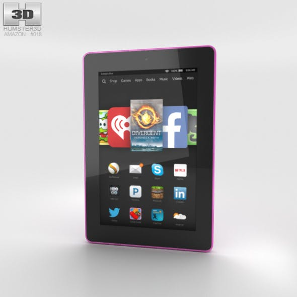 Amazon Fire HD 7 Magenta