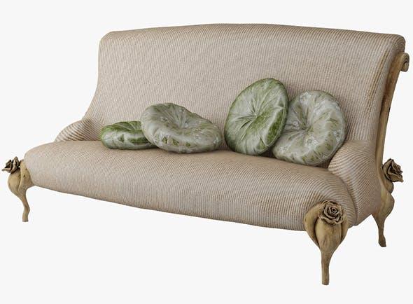 Sofa BITOSSI LUCIANO - 3DOcean Item for Sale