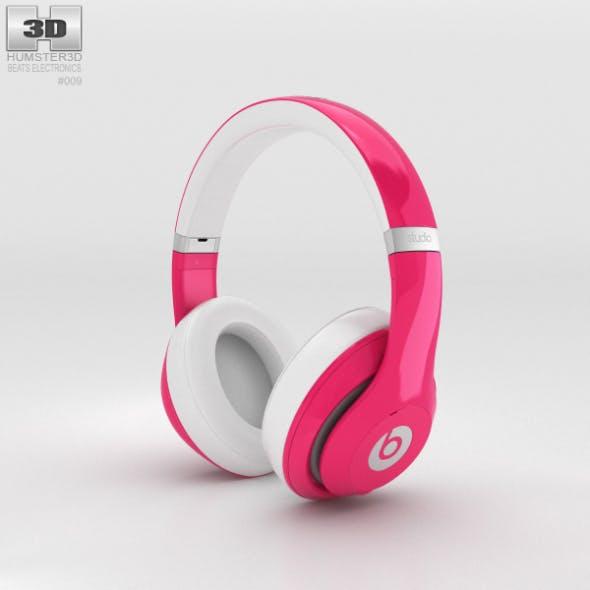 Beats by Dr. Dre Studio Over-Ear Headphones Pink - 3DOcean Item for Sale