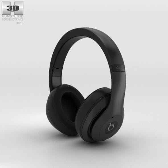 Beats by Dr. Dre Studio Over-Ear Headphones Matte Black