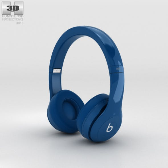 Beats by Dr. Dre Solo2 On-Ear Headphones Blue
