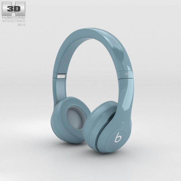 Beats by Dr. Dre Solo2 On-Ear Headphones Gray - 3DOcean Item for Sale