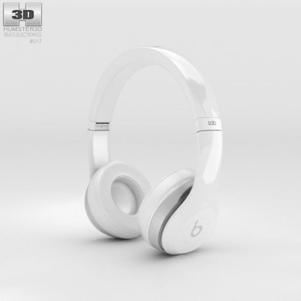 Beats by Dr. Dre Solo2 On-Ear Headphones White