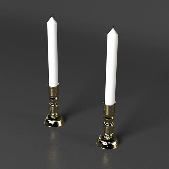 candlestick - 3DOcean Item for Sale