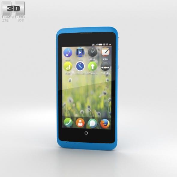 ZTE Open C Blue - 3DOcean Item for Sale