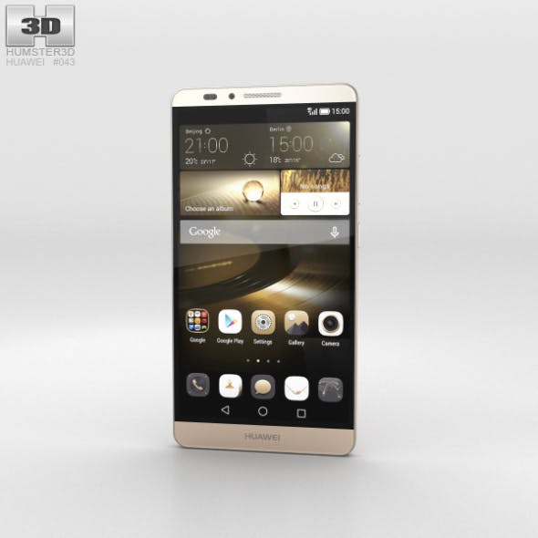 Huawei Ascend Mate 7 Amber Gold
