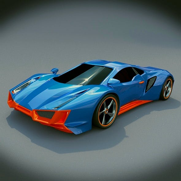 Taronox sports car concept