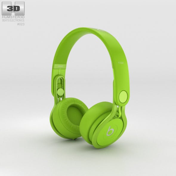 Beats Mixr High-Performance Professional Green