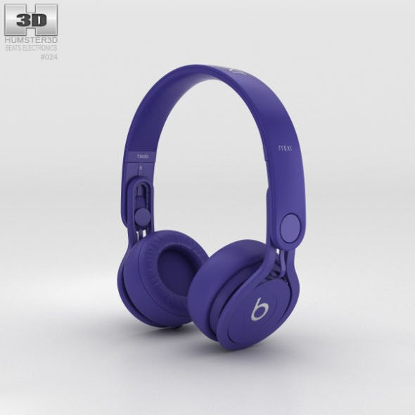 Beats Mixr High-Performance Professional Indigo - 3DOcean Item for Sale