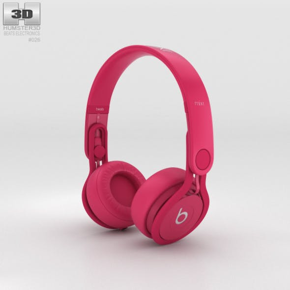 Beats Mixr High-Performance Professional Pink