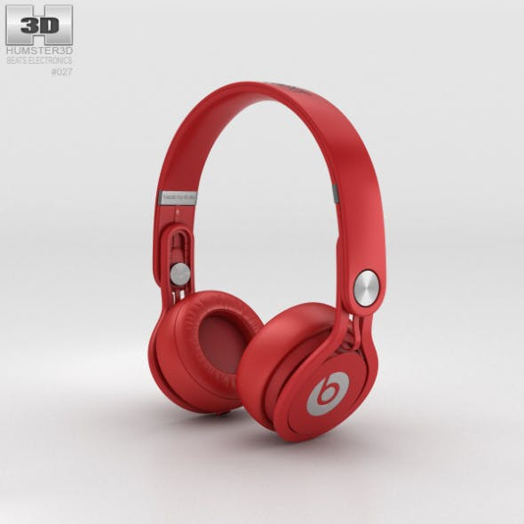 Beats Mixr High-Performance Professional Red