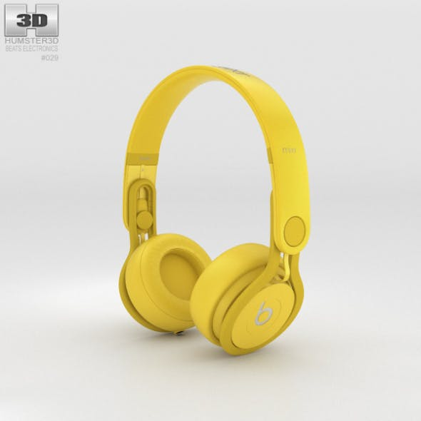 Beats Mixr High-Performance Professional Yellow