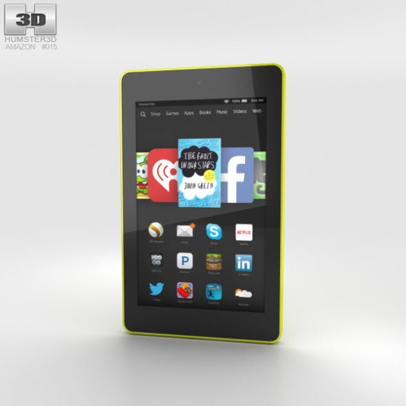 Amazon Fire HD 6 Citron