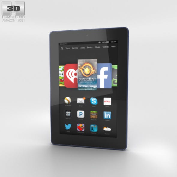 Amazon Fire HD 7 Cobalt