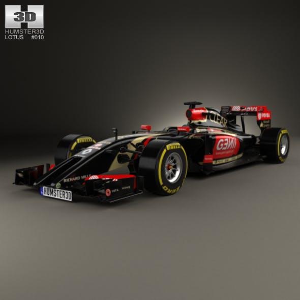 Lotus E22 2014 - 3DOcean Item for Sale