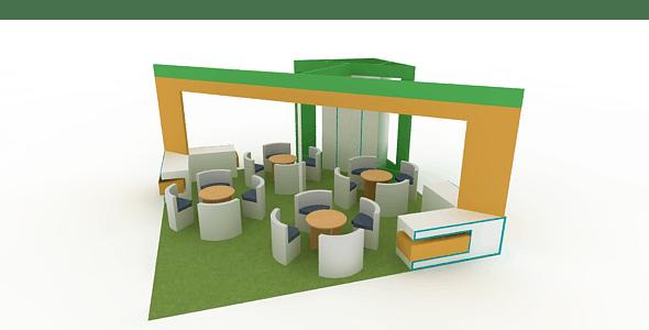 Fair stall-2 - 3DOcean Item for Sale