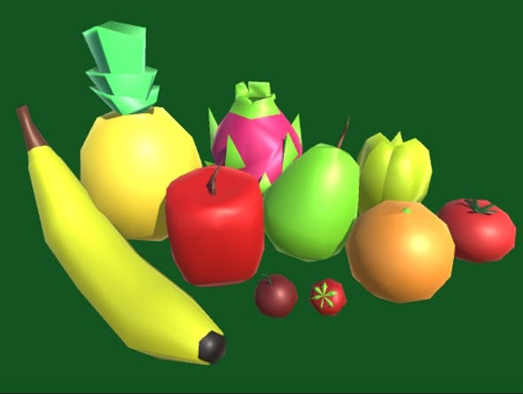 10 Simple Fruits - 3DOcean Item for Sale