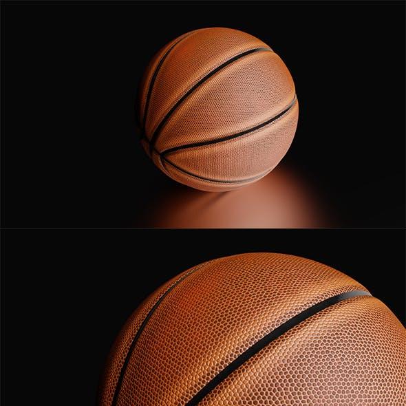 High Detailed Basketball Ball
