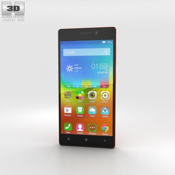 Lenovo Vibe X2 Orange - 3DOcean Item for Sale