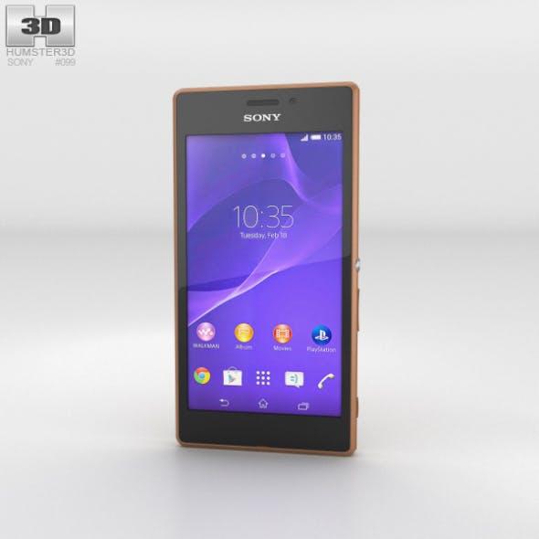Sony Xperia M2 Aqua Copper - 3DOcean Item for Sale